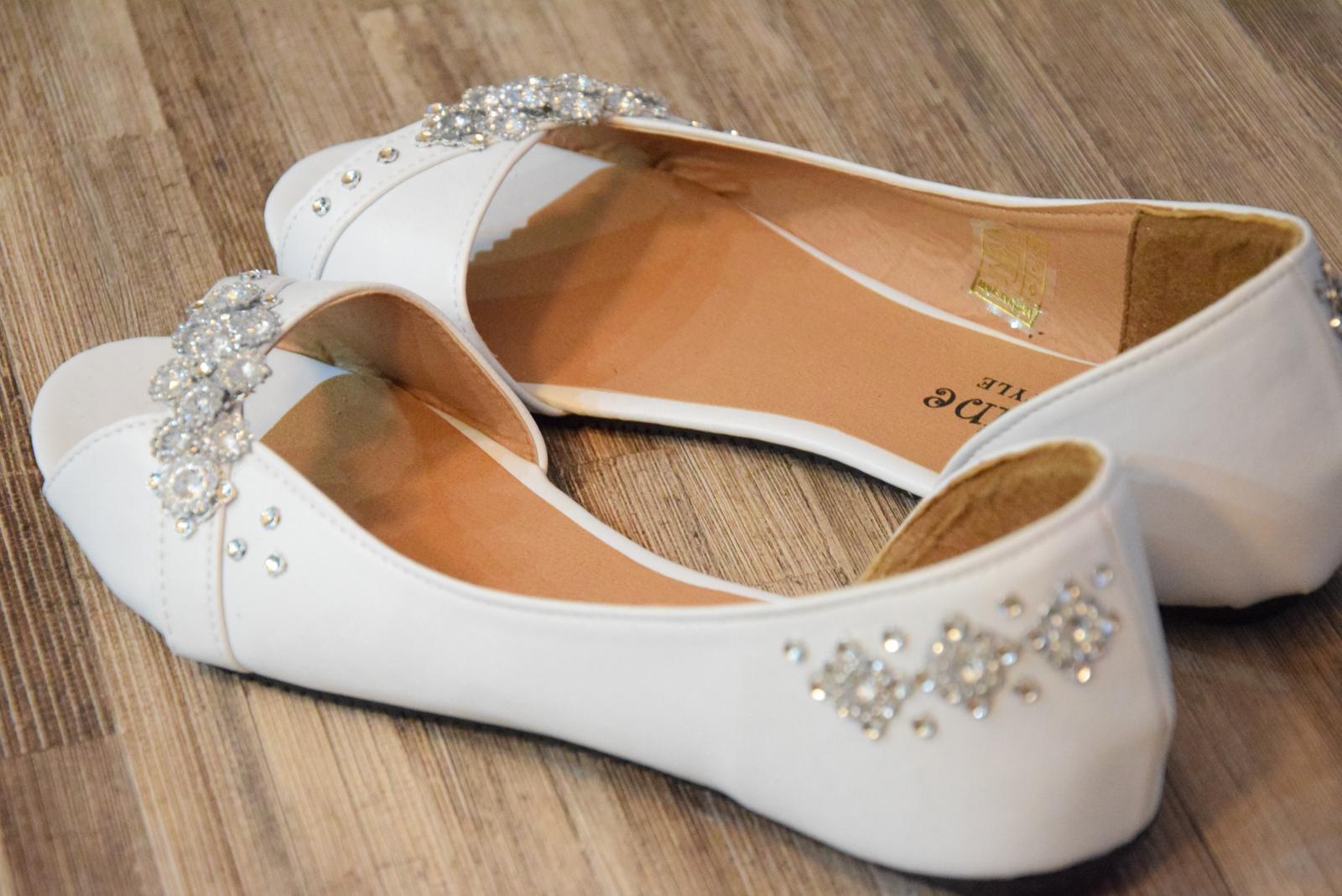 3bd06fa6831a Svadobné balerínky