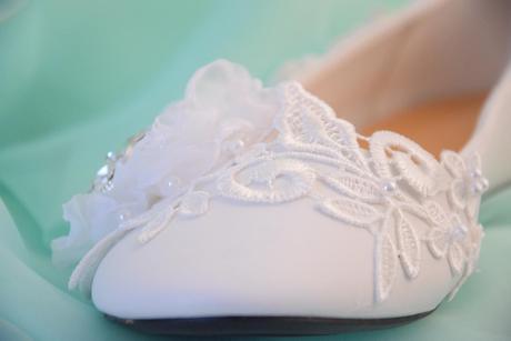 Svadobné balerínky -veľkosti 36-40, 40