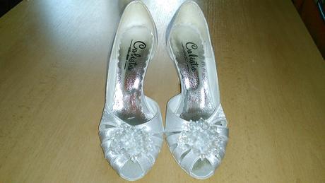 Nádherné svadobné topánočky, 36