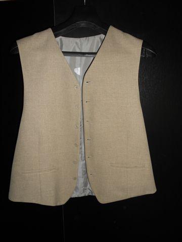 Pánsky oblek 3 kombinácia , top stav., 56