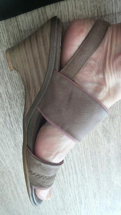 Kožene sandaly vel 37, 37