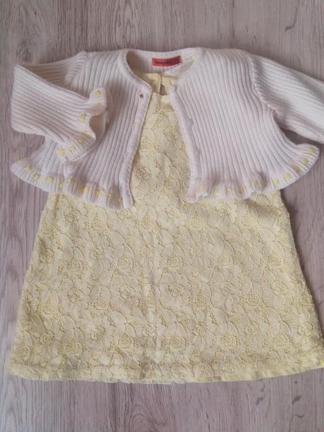 šaty pre dievčatko, 98