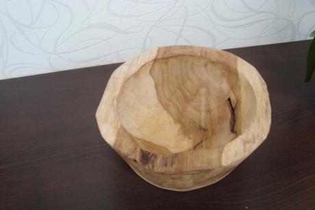 dekorační miska teakové dřevo,