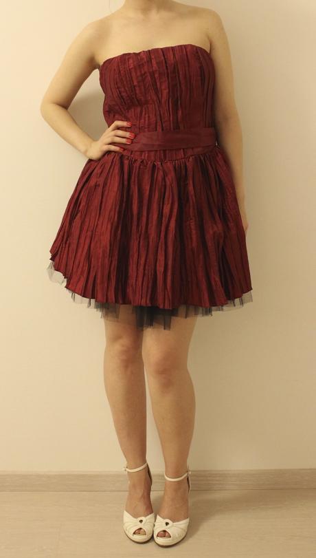 Krátke spoločenské šaty, XL