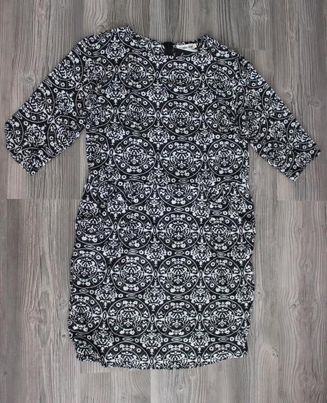 Vzorované šaty, L