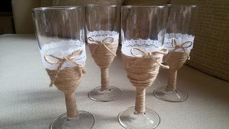 Ozdobene skleničky ,