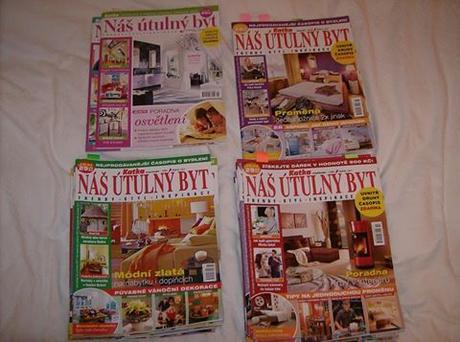 časopis o bývaní Katka Náš útulný byt,