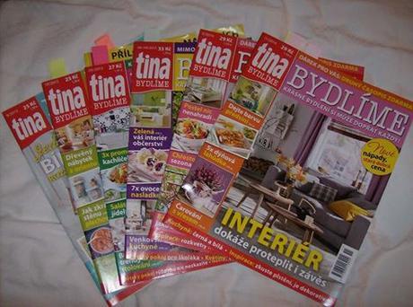 časopis o bývaní TINA Bydlení,