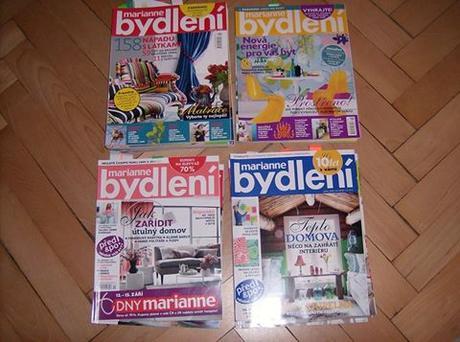 časopisy marianne bydlení,
