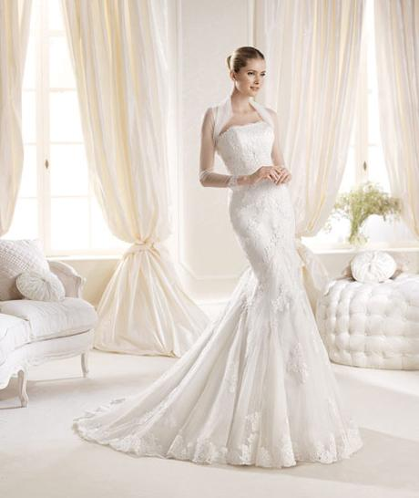 Luxusné svadobné šaty zn. Pronovias IDANA, 38