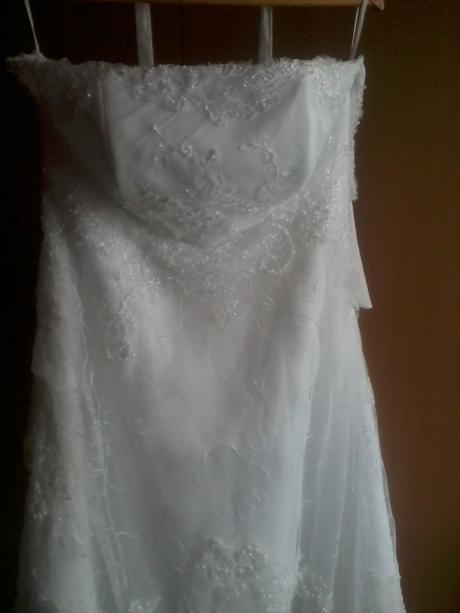 Svadobné šaty v.40-44, 40