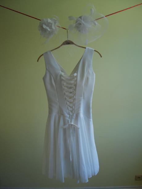 Svatební/večerní krátké šaty, 38
