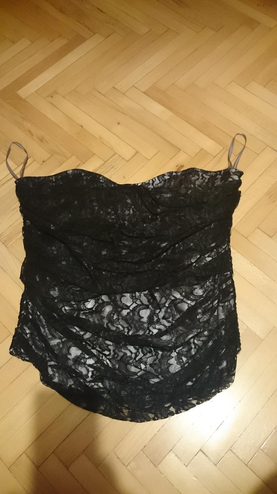Černý krajkový korzet 3a95c7606e