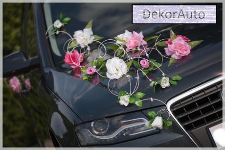 DekorAuto TATIANA ružovo-smotanová,
