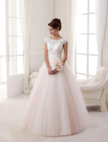 Svadobné šaty NOVÉ 16-295, 40