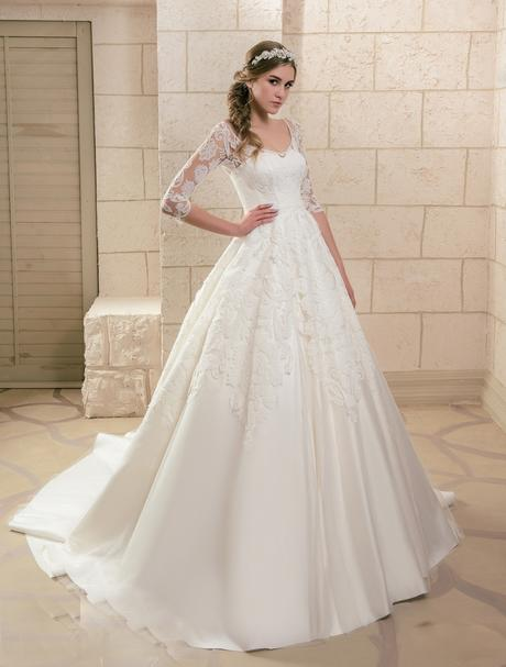 Svadobné šaty NOVÉ 2018-66, 40