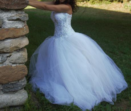 Luxusné svadobné šaty, 36