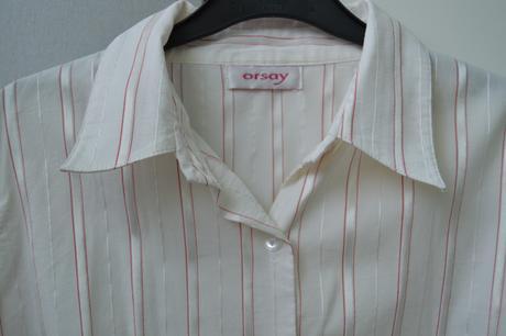 Košile s červeným proužkem, S