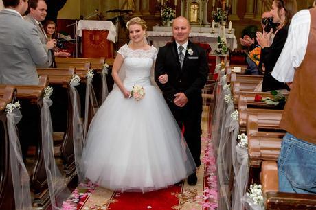 Romantické svadobné šaty NATASHA AZARYIJ , 36