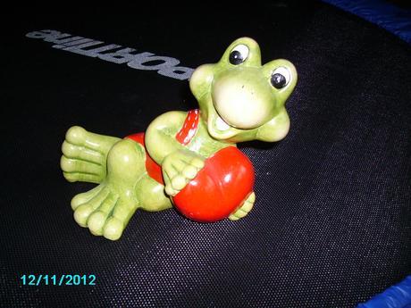 Žaba so srdiečkom,