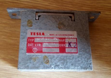 Elektrický zámok Tesla - 4FN 877 00,
