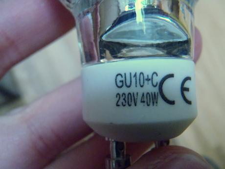 Halogenove ziarovky GU10-35W, 40W, 50W,