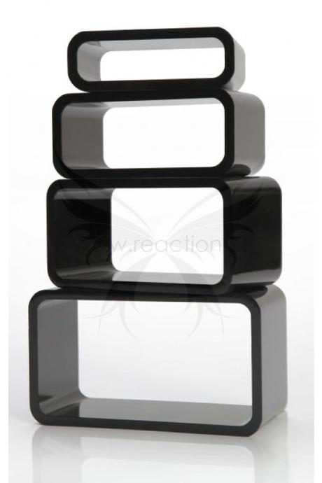 Luxusný set regálov CUBE BLACK,