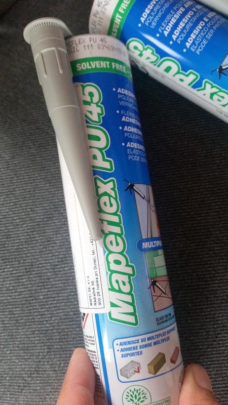 Mapei Mapeflex PU45 Polyuretánový tmel/lepidlo 5ks,