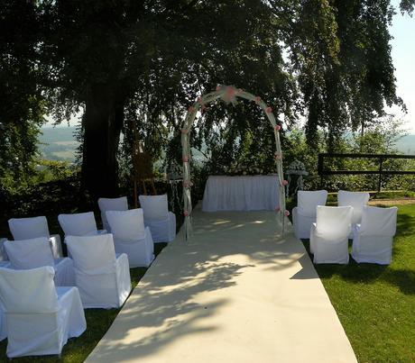 Svatební koberce - prodej,