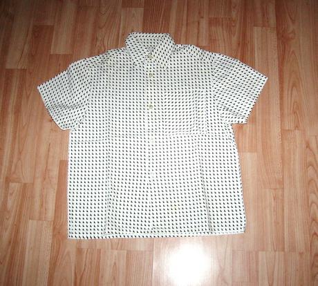 košeľa vo veľ. 104 - dlžka 53cm, 104