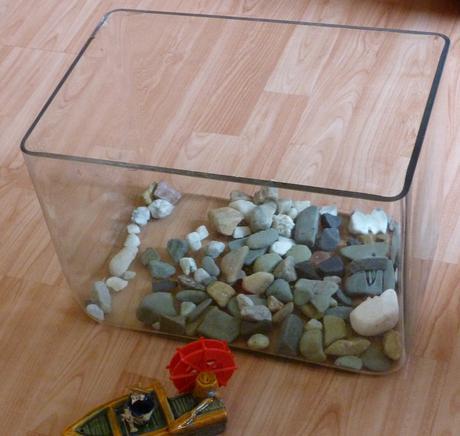 malé akvárium,