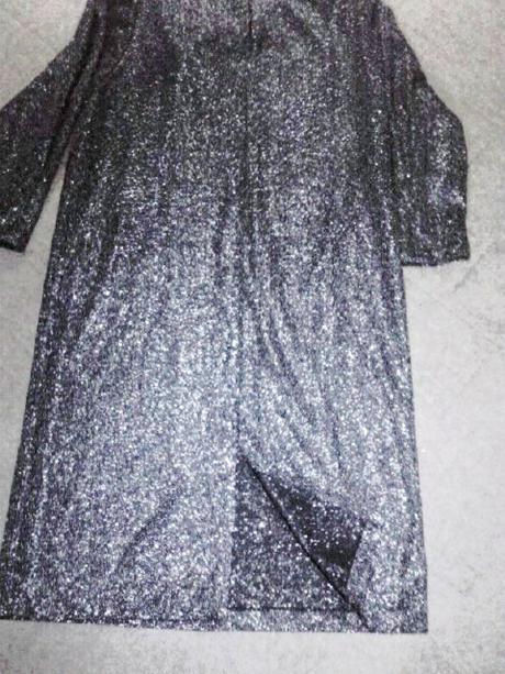 spoločenské šaty s dlhým rukávom, 40