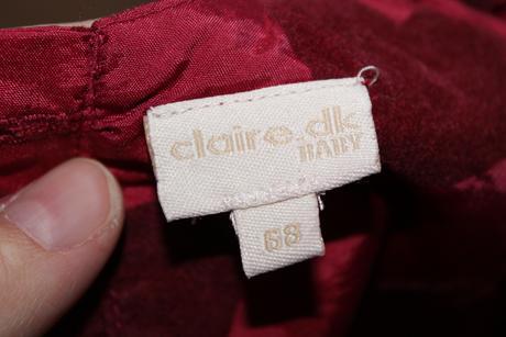 šaty pre malú družičku, 68