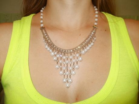 Sada náušnice + náhrdelník,