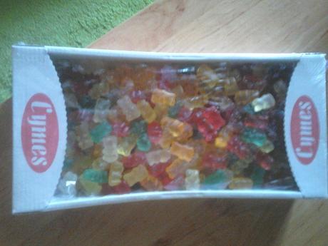1kg balenie gumových cukríkov,