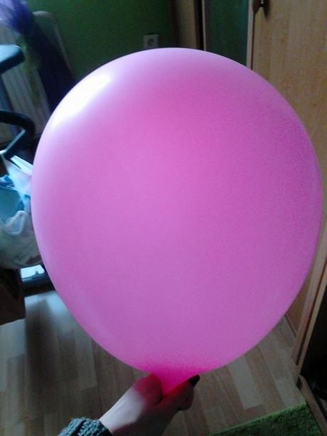 velké balóny okruhle na helium,