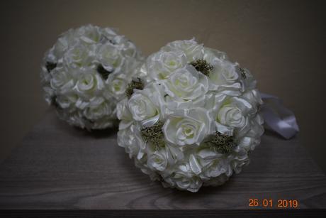 kvetinové gule,