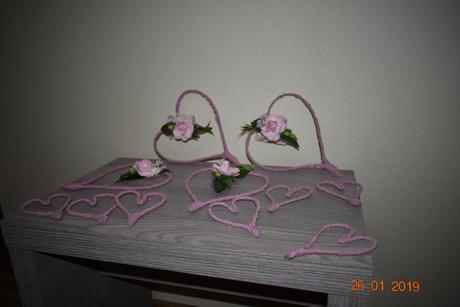 Srdcia ružové,