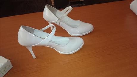 Svadobné kožené topánky, 40