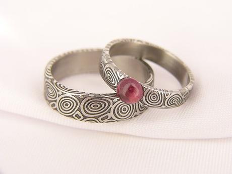 Pár snubních prstenů Eydus,