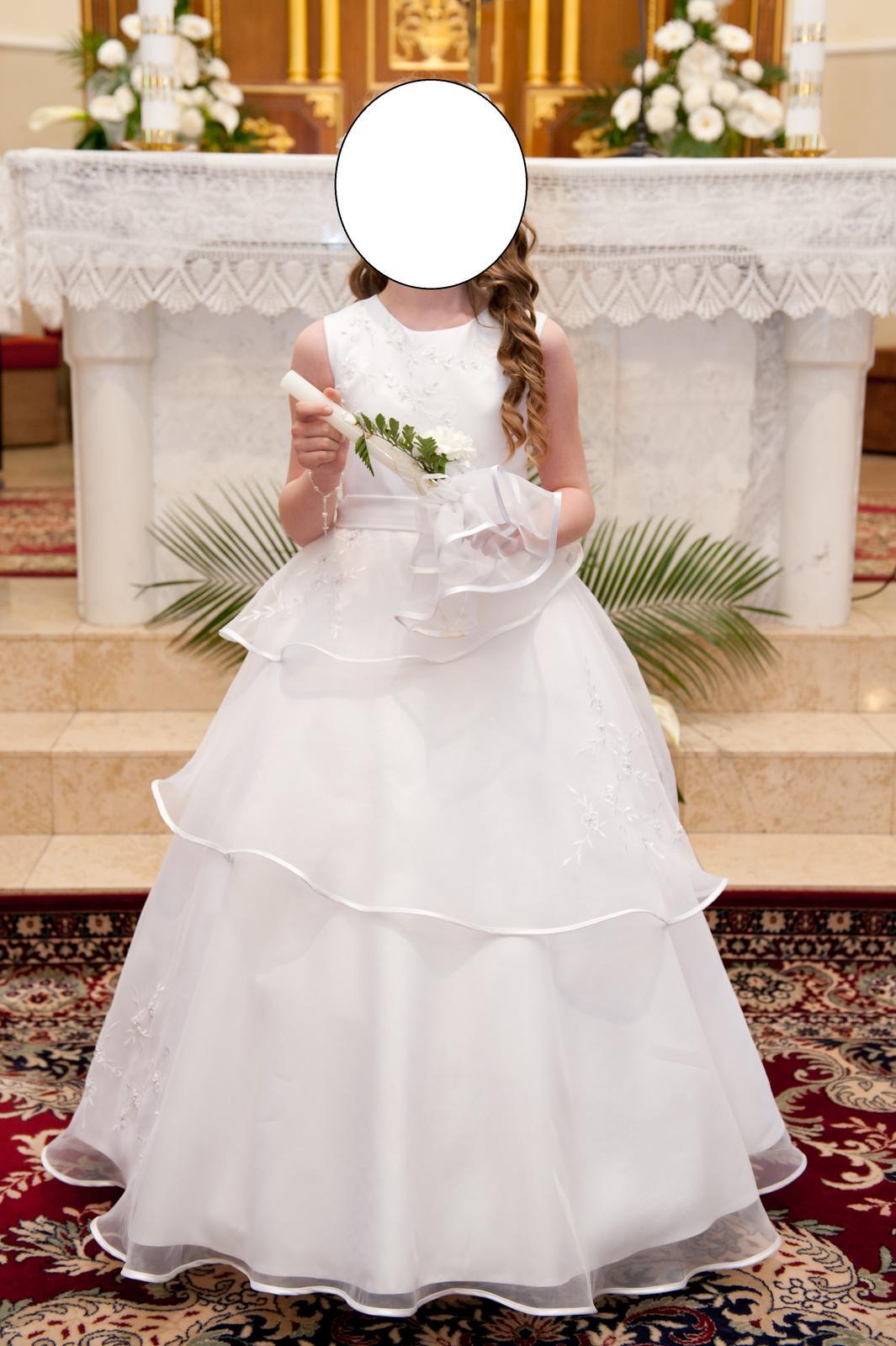 a4f7b07867f9 Šaty na 1.sväté prijímanie pre družičku na svadbu