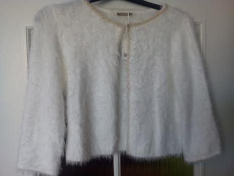 Bolerko (svetřík) Orsay - velikost M-XL bílý,