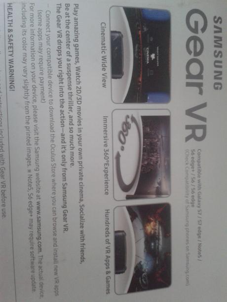 virtuálne okuliare gear vr Samsung ,