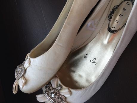Svadobne balerinky zn. Debut, 37