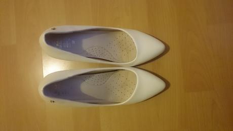 Svadobné topánky - kožené, 38