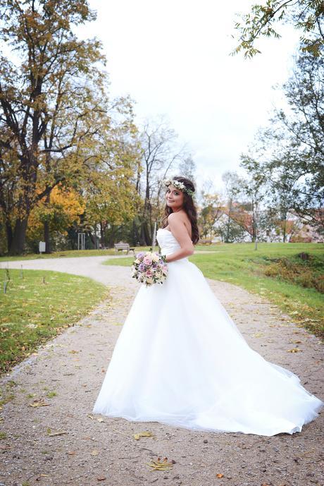 Svatební šaty 2v1 vel. 36/38, 36