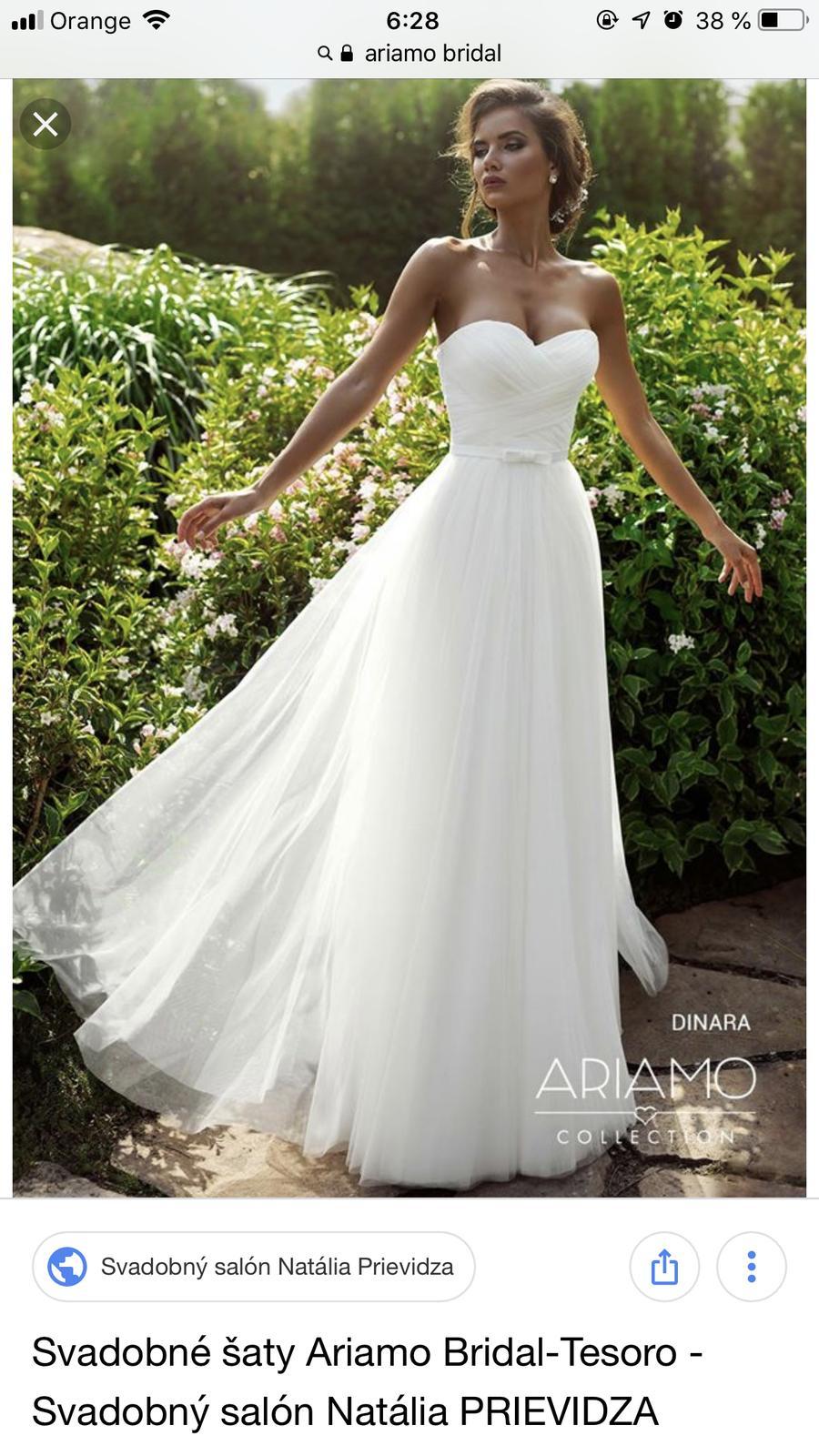 6657ddff3dbb Svadobné šaty ariamo bridal dinara