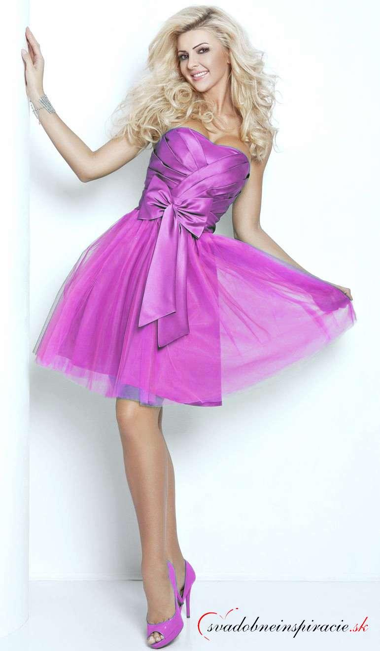 f3d8ad91c769 Spoločenské šaty michelle  fialové