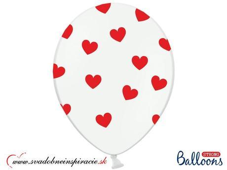 "Balóny ""SRDIEČKA"" (10 ks),"