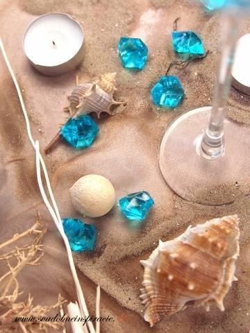 Dekoračné kamienky - DIAMANTÍKY (tyrkysové), 100ks,